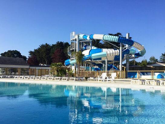 Parc aquatique pour l'hôtellerie de plein air
