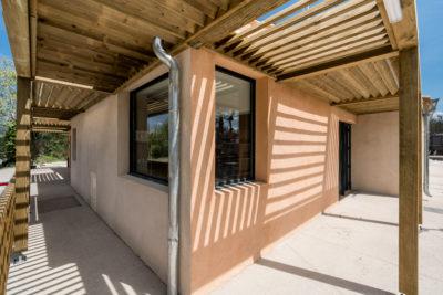 Rénovation bâtiment commerciaux pour camping HPA