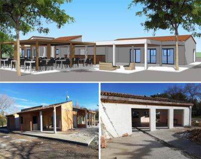 Construction et rénovation de bâtiments pour camping