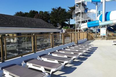 Construction parc aquatique et aménagement bois HPA Camping - Plein Air ECO Concept