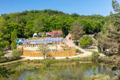 Construction parc aquatique HPA Camping - Plein Air ECO Concept