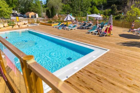 Piscine pour campings