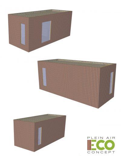 Plein Air ECO Concept - Réalisation Construction Modulaire