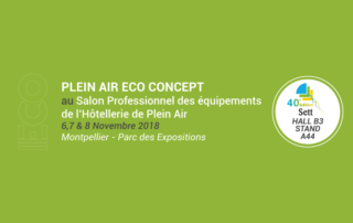 Plein Air ECO Concept au salon du SETT 2018